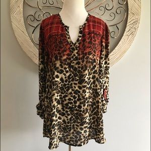 Cato Tunic Top. Size Large